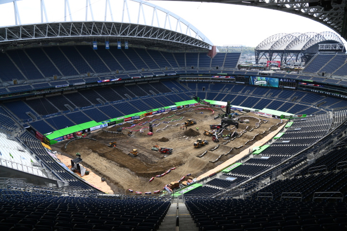 Picture of 2014 Seattle Supercross Track